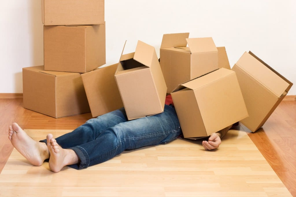 The stress of moving and how to deal with it