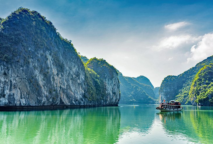Vacation spots in Asia